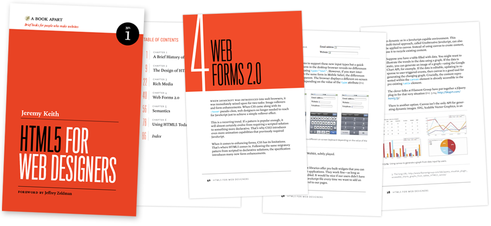 HTML5 for Web Designers book