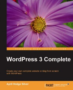 WordPress 3 Complete book cover