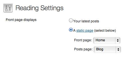 Screenshot of the WordPress admin