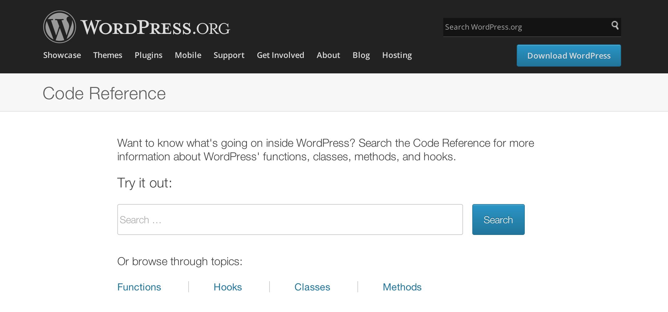 WordPress Code Reference - Jon Christopher